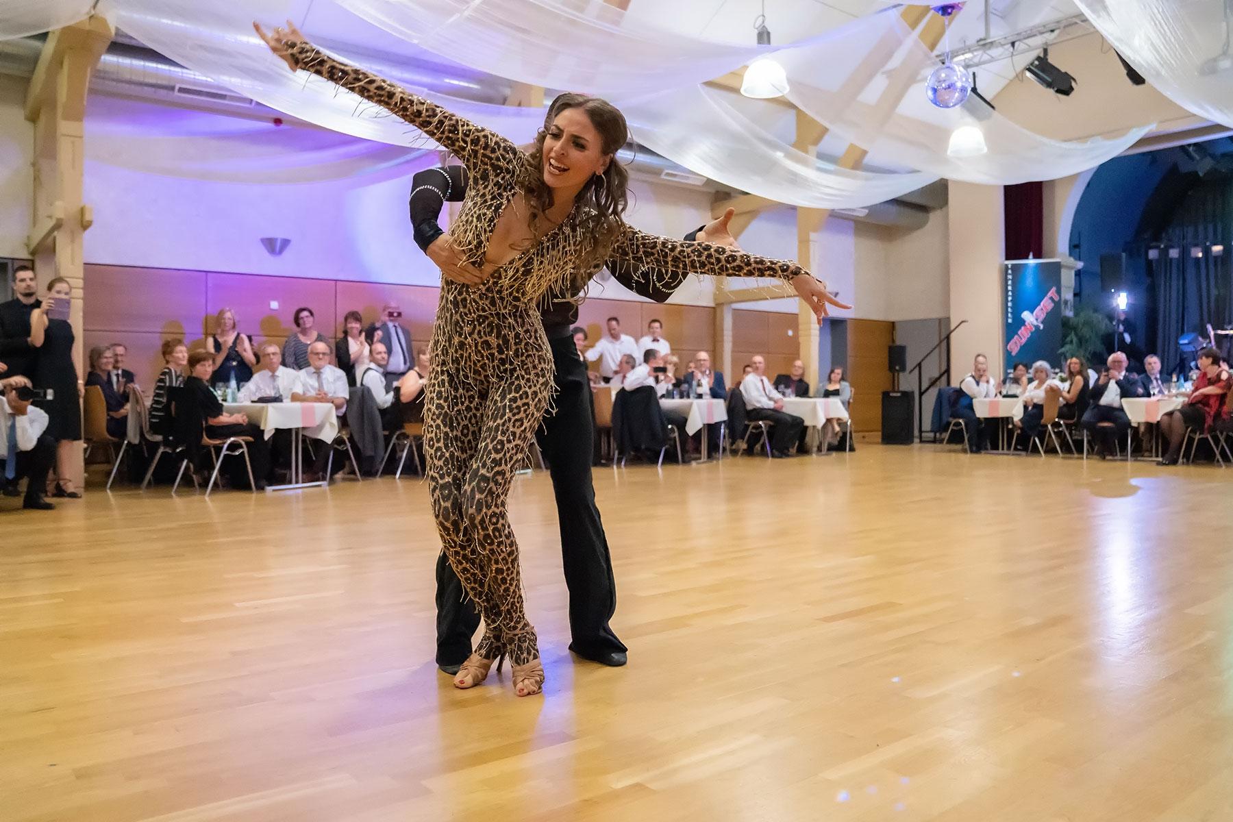 Rheinhessen Ball 2018 mit der Let´s Dance Siegerin Ekaterina