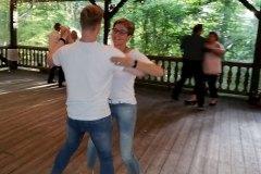 Tanzunterricht im Neubornwald (Sommer 2020)
