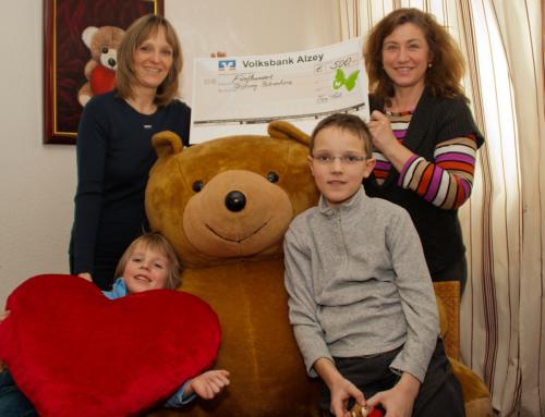 Spende für die Bärenherz Stiftung
