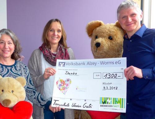Spende für Kinderhospiz Bärenherz